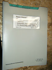 1998 AUDI A6 TIPTRONIC TRANSMISSION 01V OBD  FACTORY SERVICE MANUAL REPAIR