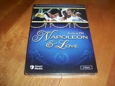 NAPOLEON AND LOVE PBS 3 DISC A&E British TV Mini-Series Ian Holm DVD SET NEW