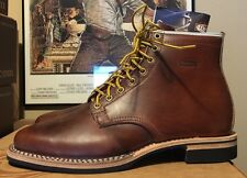 WESCO RJL LTD Foot Patrol Boot Horween Horsehide Burnished Tan  Chromexcel 9 D