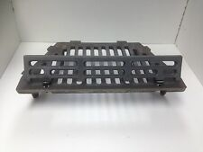 "16"" Cast Iron A.L Fire Grate 4 Legs Includes Coal Saver Open Fireplace Flat"