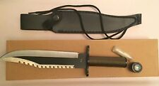 "Rambo First Blood Type Survival Knife - 14"" Knife. Rare Find."