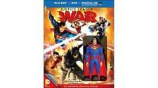 Justice League: War Blu-ray Disc 2014 DC + UV with Superman figurine