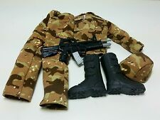 Military Uniform Weapons Accessories for 1/6 Scale Action Figure GI Joe Lot #313