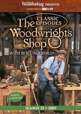 NEW!  The Woodwright's Shop with Roy Underhill Season 25 [DVD]