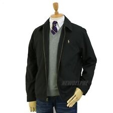 NWT POLO RALPH LAUREN Men's Windbreaker Jacket Black Navy Tan S M L XL 2XL
