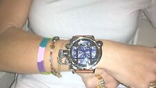 Invicta 17335 Monster Russian Diver Swiss Blue Dial Gator Strap Watch