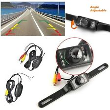Wireless Car Rear View Cam Reverse Backup Parking Camera Waterproof Night Vision