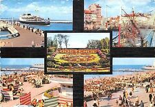 Belgium Souvenir from Ostend Oostende multiviews Beach Flowers Clock Harbour