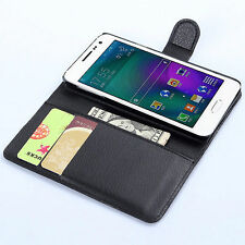 HOUSSE ETUI COQUE CUIR LUXE PORTEFEUILLE A RABAT SAMSUNG GALAXY A5
