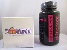BOOTIFUL BUTT ENLARGEMENT Enhancement Cream & GLUTEBOOST PILLS 1 BOTTLE