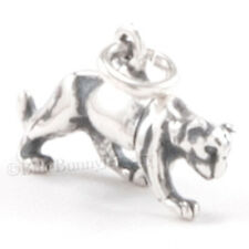 3D PUMA WILD CAT Panther Cougar Mountain Lion 925 Charm Pendant STERLING SILVER