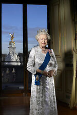"Queen Elizabeth II Portrait   13 x 19"" Photo Print"