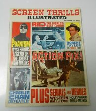 1963 SCREEN THRILLS ILLUSTRATED #2 VF The Phantom CHARLIE CHAN Serials Westerns