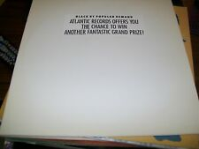 Name The Two Mystery Artists And Win!-Atlantic-LP-Vinyl Record-NM