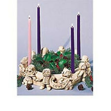 """Children of the World"" Advent Wreath Wreath Candleholder Centerpiece"