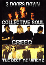 3 DOORS DOWN COLLECTIVE SOUL CREED THE BEST 36 Music Videos DVD ROCK ALTERNATIVE