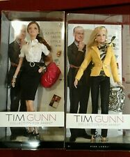 2 Tim Gunn Collection For Barbie Dolls New In Box