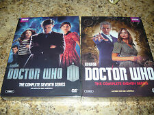 Doctor Who: The Complete 7th Series 8th season seventh eighth new sealed DR