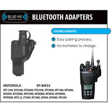 Tactical Ear Gadgets Blue-Wi Bluetooth Wireless Adapter for Motorola XTS Radios
