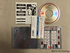Foreigner - Records JAPAN EARLY CD (18P2-2735) OBI