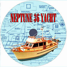 Model Boat PlansRADIO CONTROL TRAWLER YACHT Building notes& full size Plans