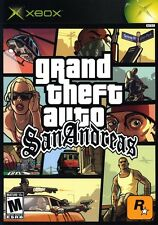 "Grand Theft Auto: San Andreas ""AO"" Version - Original Xbox Game"