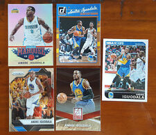 Andre Iguodala LOT of 5x different cards - Warriors 76ers Nuggets