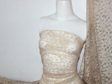 Nude 4 way stretch lace Fabric