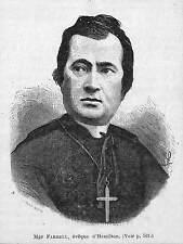 HAMILTON MGR FARRELL EVEQUE GRAVURE ENGRAVING 1873