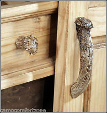 NEW CUSTOM MADE IN USA SYNTHETIC WHITETAIL DEER ANTLER DRAWER CABINET KNOBS