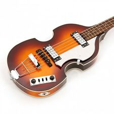 NEW HOFNER BEATLE IGNITION BASS GUITAR WITH  CASE HI-BB-SB Free Package Deal