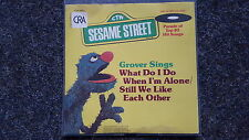 Sesame Street/Sesamstrasse/ Grover - What do I do when I'm alone 7''