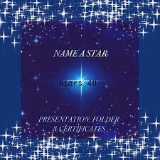 ☆ PERSONALISE A STAR..PERFECT PERSONALISED GIFT ☆ BROTHER, SISTER, MUM, DAD☆