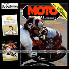 MOTO JOURNAL N°228 FANTIC RC 50 CABALLERO MICHEL ROUGERIE AGOSTINI KANAYA '75
