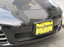 A NASA-like Rubber License Plate Bracket Frame Holder Guard Bumper for PORSCHE