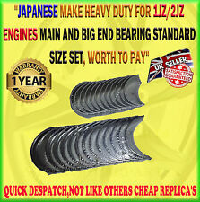 FOR TOYOTA ARISTO 1JZGE /2JZGTE MAIN CRANKSHAFT BEARING CONROD BIG END BEARING