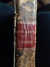 The Works Of Sallust 1824 Book Translated From Latin First American Edition