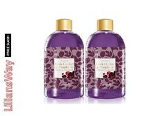 2 x AVON LIMITED EDITION DARK ORCHID & Lampone BUBBLE BATH ~ 250ml x 2