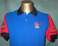 TEAM RAHAL/REYNARD/GOODYEAR/FORD/DURACELL/SHELL/MILLER RACING MENS M POLO SHIRT!