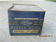 1932 1933 1934 1935 1936 - 1952 Ford NOS Piston Rings 95 H/P Flathead .030