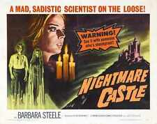 Nightmare Castle Poster 02 0 A3 Box Canvas Print