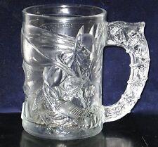"""1995 McDonald's """" Batman Forever """" Batman Glass Mug / Cup."""