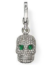 NEW Juicy Couture Charm Pave Skull