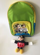 Disney Mickey And Minnie Backpack And Wrist Coin Purse Brand New Disneyland Trip