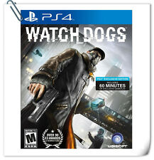PS4 Watch Dogs SONY Playstation Action Adventure Games Ubisoft