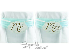 'MR & MRS' CHAIR BUNTING -Wedding Wall Decorations/Signs-To Have & To Hold Range