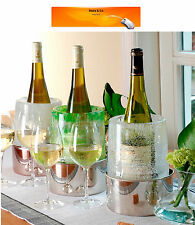Ice Bottle Chiller Mould  Table Centrepiece Wine Bucket Cooler Bar Decoration