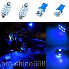 INTERIOR CEILING LED SMD Bulbs KIT 12V BLUE Package For Honda Civic IX 12 up