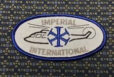 IMPERIAL INTERNATIONAL  Iron or Sew-On Patch