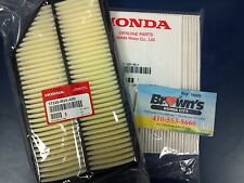 NEW GENUINE HONDA ODYSSEY ENGINE / IN CABIN  AIR FILTER SET 2011-2014